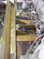 Repaired Fiberglass Transom